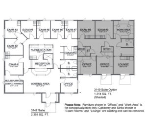3147 Option B Traverse City Office Space for Lease