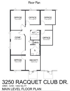 3250 Racquet Club Drive-TC Office Lease Floor Plan-sm