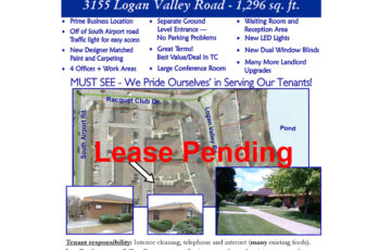 TC Office for lease pending lease