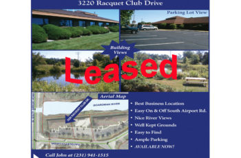 Commercial Office for Lease in Traverse City, Michigan | 3220 Racquet Club Drive Commercial Office for Lease