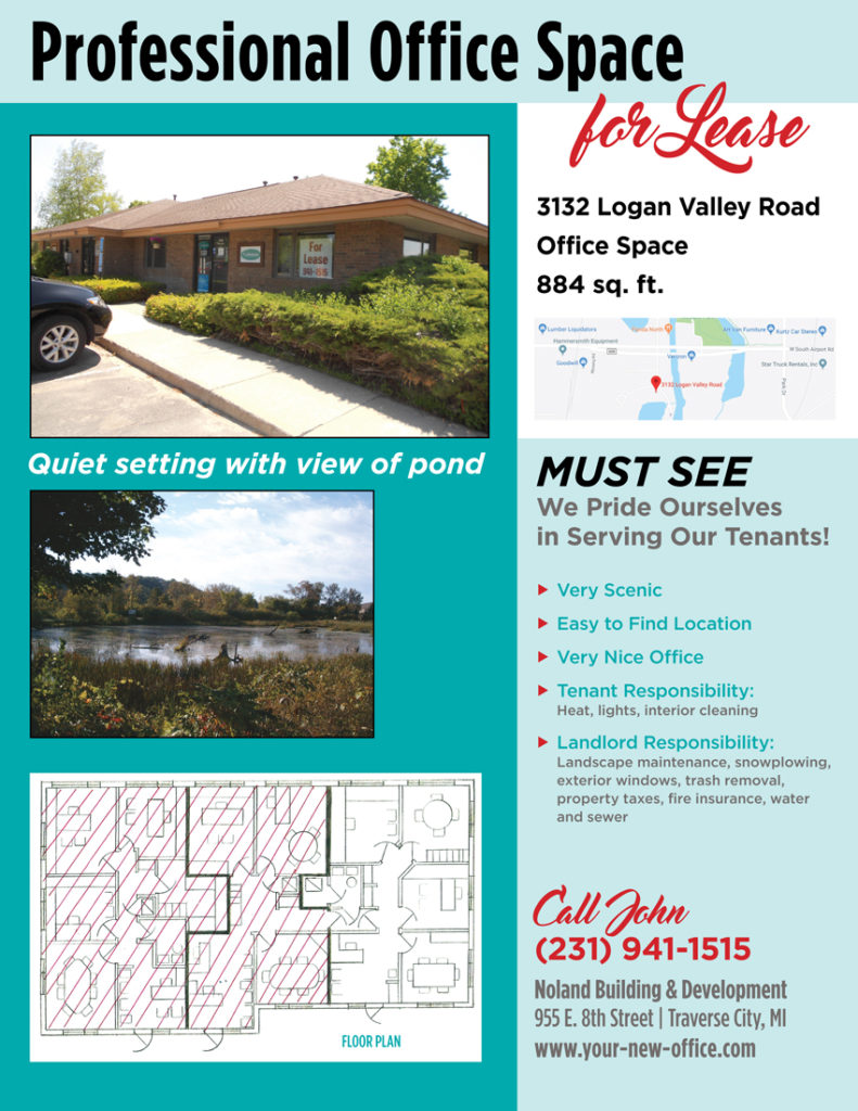 3132 Logan Valley Road Traverse City Office Lease